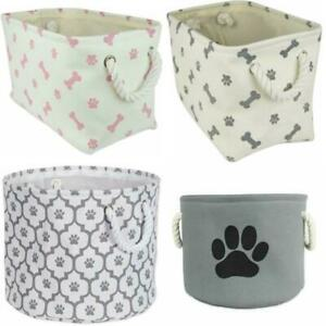 Bone Dry DII Medium/ Small Pet Toy and Accessory Storage Bin in Rectangle/Round