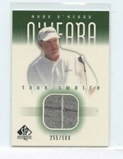 MARK O'MEARA 2001 Upper Deck SP Authentic Tour Swatch Worn Golf Shirt #MO-T