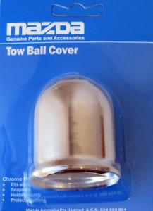 New genuine Mazda Chrome Towball cover MZDATBCVR