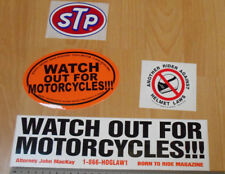 Pegatinas de parachoques de moto-Cuidado para motos etc