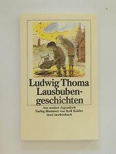 Ludwig Thoma Lausbubengeschichten illustriert Rolf Köhler Insel Verlag