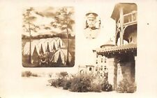 WWI and Mexican Border War Era~Soldiers Tents~General Officer Inset~c1916 RPPC