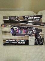 Space Gun Toy Super Sound Light Electronic Series #999S-7 Rotation Light Speaker