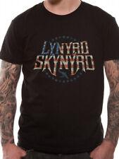 OFFICIAL LYNYRD SKYNYRD T Shirt Stars and Stripes Vintage Logo