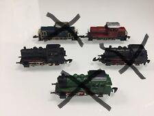 Märklin miniclub, Spur z, verschiedene Lokomotiven, 3 BR 89, 2 V260,
