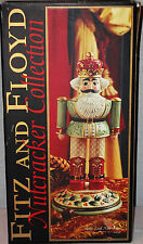 "FITZ & FLOYD CHRISTMAS NUTCRACKER COLLECTION LG ""2003""""HOLLY LEAF""NUTCRACKER NEW"