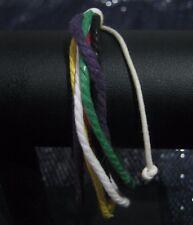 Fantastic multi-string friendship style bracelet in many colours adjustable