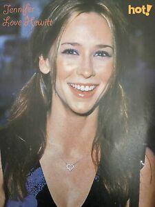 Jennifer Love Hewitt Teen Magazine Pinup Poster Clipping Hot!