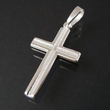 Anhänger Kreuz Kette 925 Silber Kettenanhänger 3,4cm Kommunion Schmuck 1711634