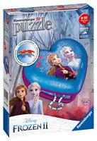 12120 Ravensburger Disney Frozen 2 Heart Shaped 3D Jigsaw Puzzle 54 Piece Age 9+