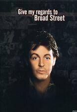 Paul McCartney's Give My Regards to Broad Street (2004, DVD NEUF) WS