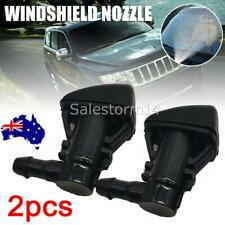 2X Windshield Wiper Spray Washer Nozzle Fit For Jeep Grand Cherokee 2005-2018 AU