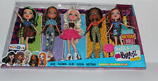Brand New BRATZ HELLO MY NAME IS 5 BRATZ Dolls Included in Package