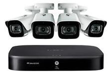 Lorex 4K Ultra Hd D841A81B 8 Ch Dvr with 4K 4xLbv8721Ab Camera 150ft Nv