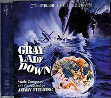 """Jerry Fielding """"GRAY LADY DOWN"""" score Intrada 2000 limited CD Sold out SEALED"""
