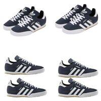 Adidas Mens Originals Samba Trainers Casual Shoes Suede Sneakers Navy Uk 7 Uk 8