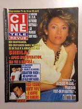 CINE TELE REVUE N°16 1993 SHEILA