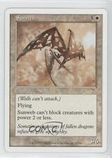 2001 Magic: The Gathering - Core Set: 7th Edition #51 Sunweb Magic Card 0a7