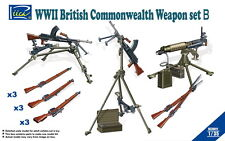 Riich Models RE30011 1/35 WWII British Commonwealth Weapon Set B