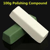 Pâte à polir Blanc/Vert 100g Polissage de Finition Plastique Cuivre Acier Métaux