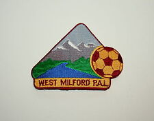 3 Nj Soccer Assoc Team Club West Milford New Jersey Pal Patch New Nos 1990s