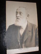 Old postcard German scientist Rudolf Virchow postally used 1903