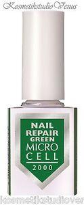 MICRO CELL 2000 Nail Repair GREEN Nagelhärter Lack 12 ml