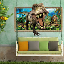 3D Forest Big Dinosaur Room Home Decor Removable Wall Stickers Decals Decoration