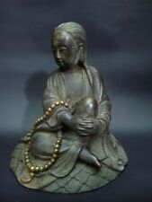 Very Fine Rare Old Chinese Bronze Casting GuanYin Buddha Statue Marked YongLe
