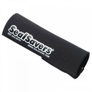 Seal Savers Zip-On Fork Covers 44-50mm Fork Tube, Short Black SSZ134BLK