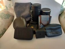 Lot of camera cases, straps, lens pouches including Canon Lp1224 for 70-200 f4