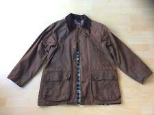 JONES & HIGGINS Men's Brown Waterproof Wax Jacket / Coat, Size: S