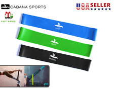 Cabana Sports Resistance Bands Loops 3 Pack Workout Booty Band Home Gym Crossfit