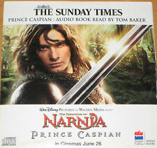 The Chronicles Of Narnia - Prince Caspian (Audio CD) read by Tom Baker