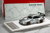 Porsche 911 (993) RWB Silver Phantom,Scale 1:64 by Fuelme Models