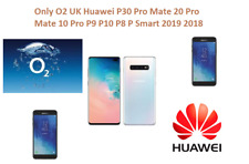 Only O2 UK Huawei P30 Pro Mate 20 Pro Mate 10 Pro P9 P10 P8 P Smart 2019 2018
