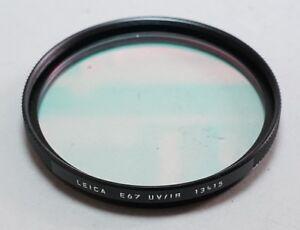 Leitz Leica Camera E67 67mm UV/IR Cut Lens Filter 13415