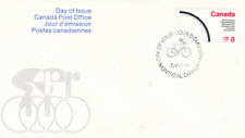 Canada World Cycling - 1974 F.D.C. - first day cover