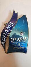 ADNAMS brewery EXPLORER beer pump clip Sole Bay Brewery Suffolk