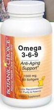 OMEGA 3-6-9 1000MG HEART IMMUNE DIGESTION SKIN HEALTH SUPPLEMENT 60 SOFTGELS