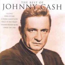 JOHNNY CASH the best of (CD compilation, 1998) greatest hits, country, very good