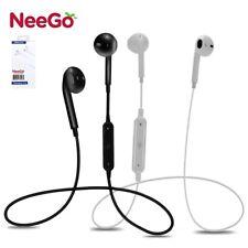 Wireless Earpiece Bluetooth Handsfree Noise Cancelling Stereo Earbuds Headset