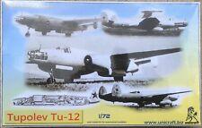 Tupolev Tu-12, Jet engined Tu-2, UNICRAFT RESIN 1/144