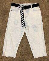 NWT Boys Bleached Denim Art Class Shorts Size 7