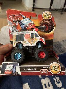 Disney Cars Toon I-Screamer Power Punch 2010 Ice Cream Monster Truck Mater New
