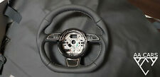 Steering Wheel AUDI A6 C7 A7 S7 S-line No Paddles  Flat Bottom THICK