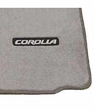 Genuine Toyota 2003-2008 Corolla Light Gray Carpet Floor Mats Set PT206-02041-11