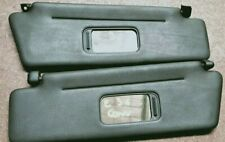 BMW E36 318i CONVERTIBLE 3-SERIES MODEL SUN VISOR SUNVISOR SET BLACK 5/91-9/00
