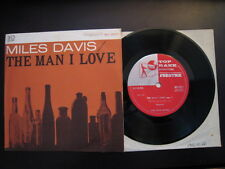 Miles Davis The Man I Love MONO Japan Vinyl EP 7 inch Single Thelonious Monk