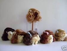 Perruque cheveux naturels T6(27.5cm) de poupées anciennes et modernes -DOLL WIG